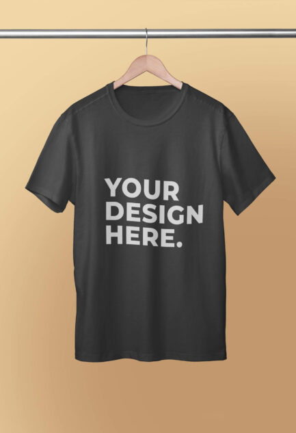 No.1 Premium Custom Crew Neck T-Shirts for POD Dropshipping in India