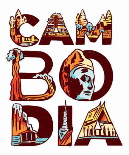 Pre-Printed-Cambodia-Text-D